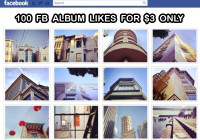 buy 100 facebook album likes