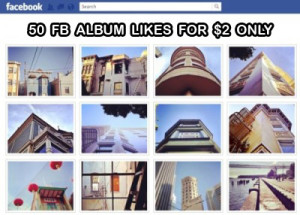 buy 50 fb album likes