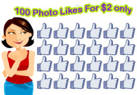 buy 100 FB photo likes