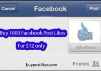 buy 1000 facebook post likes
