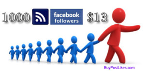 buy 1000 fb followers