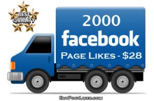 buy 2000 Facebook Likes